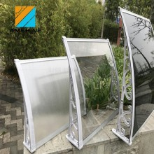 modern design polycarbonate window/door porch awning canopy