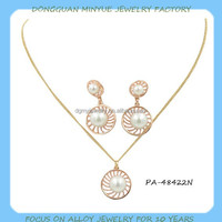 fashion keshi pearl necklace and earring sets