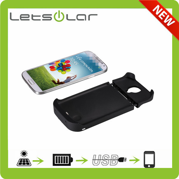 3000mah solar cellphone case for Samsung Galaxy S4