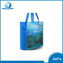 Lovely promotional image laminated non woven bag