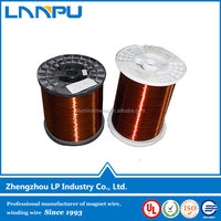 ISO Certificated Class 200 Enameled Copper Magnet Wire 0.09mm