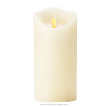 Yellow Light Flicker Candle Lights Flameless Swinging Electronic Candles Moving Flame