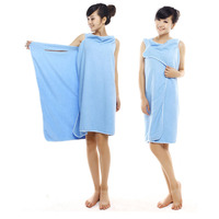 Microfiber Girls Female sexy bath robe beach skirt wraps