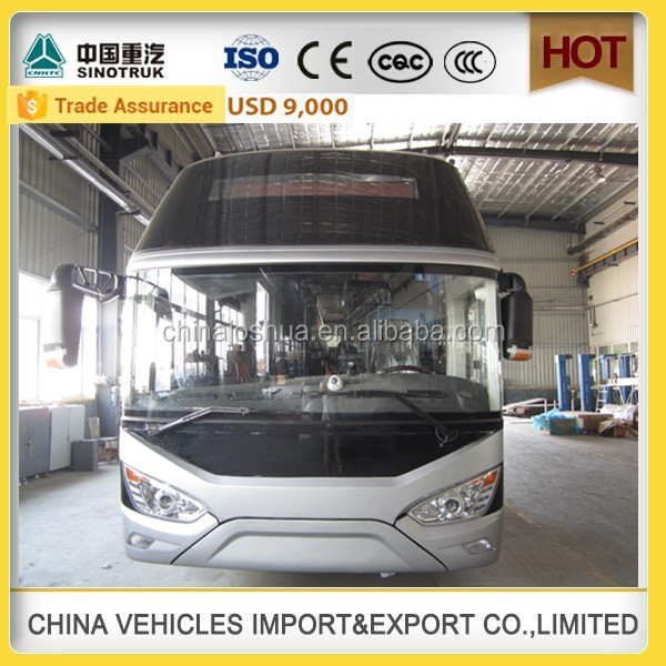 latest technology Sinotruk howo tourist bus design