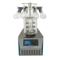 RT-5-10 pharmacy lyophilizer manifold vacuum freeze drying machine