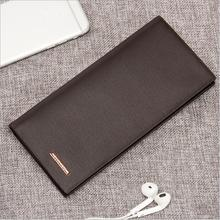 Baellerry men's long casual multi card wallet student youth purse wholesale