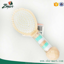 manufactur best sell high quality plastic paddle hair brush