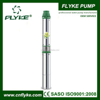 "3.5""QJD head 100m deep well water submersible bore pump 2hp"