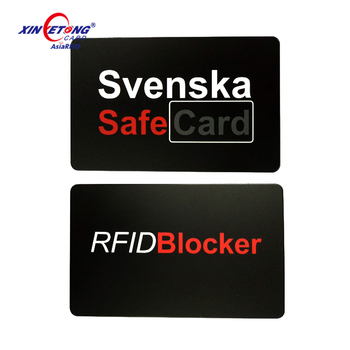 Factory Price Amazon Wallet Protector E-Shield RFID Blocking Card Xinyetong manufacturer