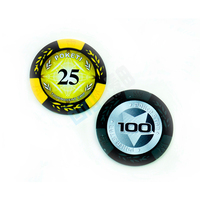 Custom of the best high-end clay and plastic chip casino chips value is optional