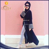 Latest design good fabric indian muslim dress Kimono hot sale in Europe