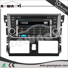 electronic accessories built in bluetooth function car dvd player for TOYOTA YARIS/VISO YARIS Sedan 2013- / Third generation