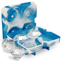 RENJIA Christmas custom ice cube tray ice mold diamond mold