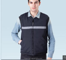 2015 Outdoor Working Vest; Padded Windproof Body Warmer Vest; Breathable Sleeveless Work Vest