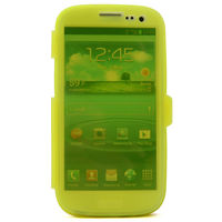 Soft Gel TPU Transparent Clear Silicone Flip Full Case For Samsung Galaxy S3 I 9300