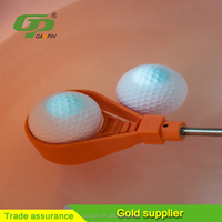 Cheap high quality plastic handle metal ball retriever for lake golf