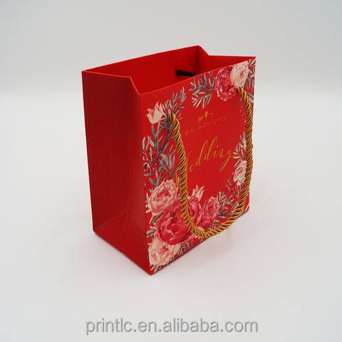 Cheap Custom Printed Luxury Retail Paper Shopping Bag Low Cost Paper Bag Color Paper Bag Supplier