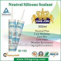 Neutral Glass Concrete Marble Use Siicone Sealants(REACH,SGS)