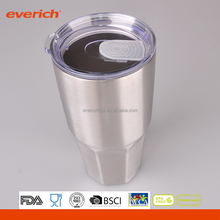 30 oz. Stainless Steel Double Wall Vacuum Travel Mug Pint