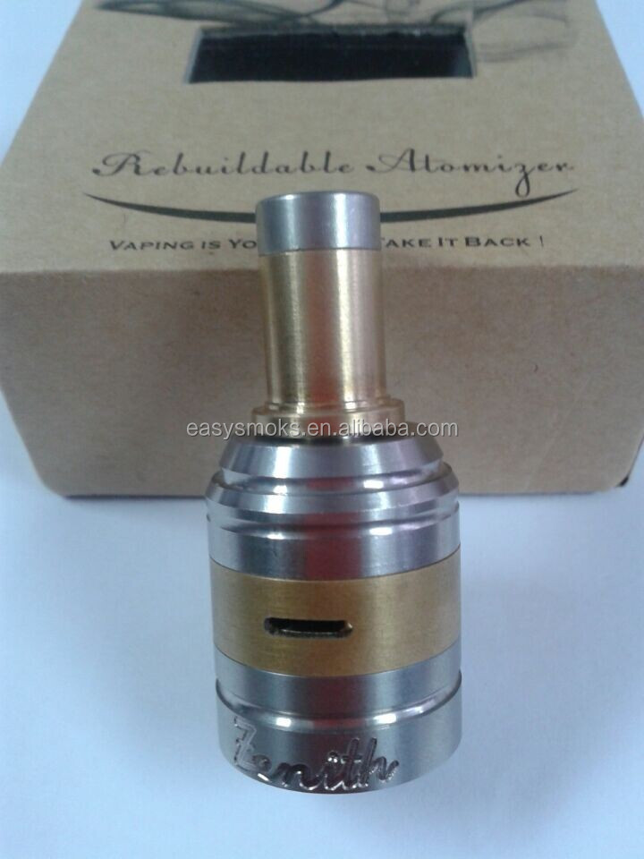 new Arrival 22mm diameter zenith v2 rda for black nzonic /seven 22 mod