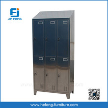 6 Door Stainless Steel Almirah / Waterproof Bathroom Cabinets