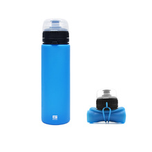 Bpa Free Collapsible Water Bottle Silicon Drinking Bottle