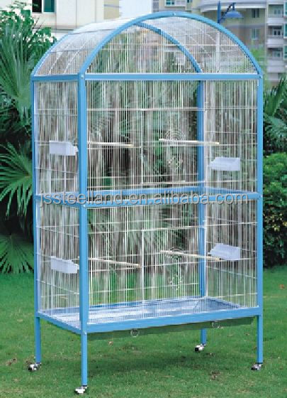 large luxurious metal bird cage parrot crate hotsales pet products
