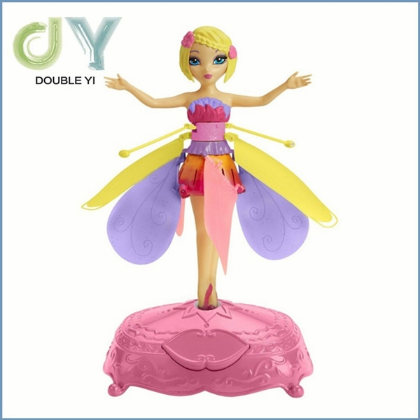 factory price cheap hot sale high quality plastic flying elsa fairy electric toy