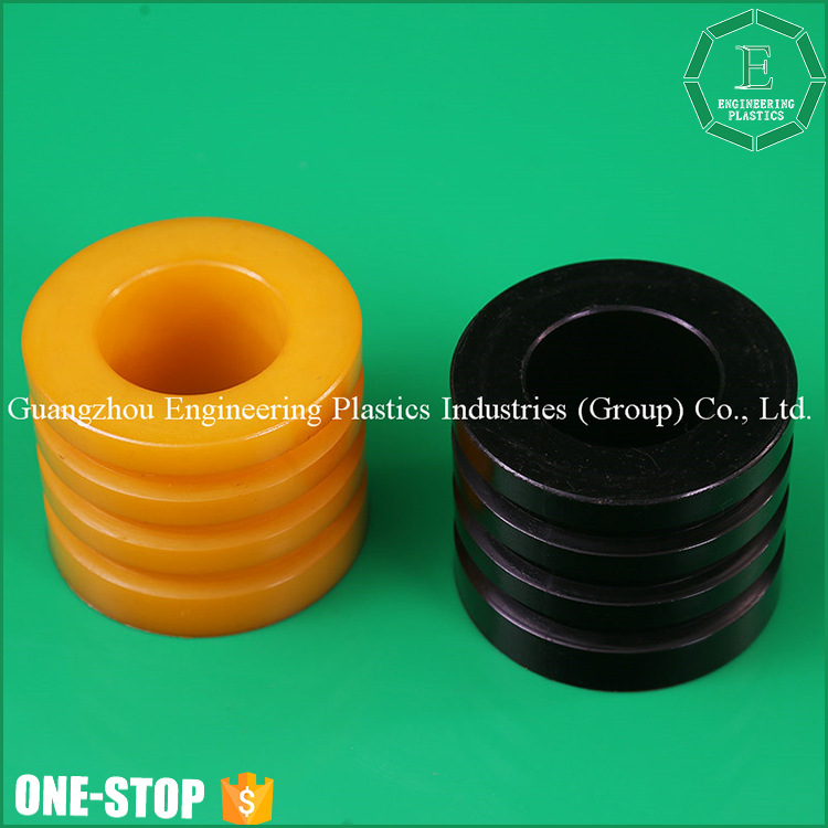 OEM NBR rubber polyurethane shield sleeve moulding injection plastic pu bushing