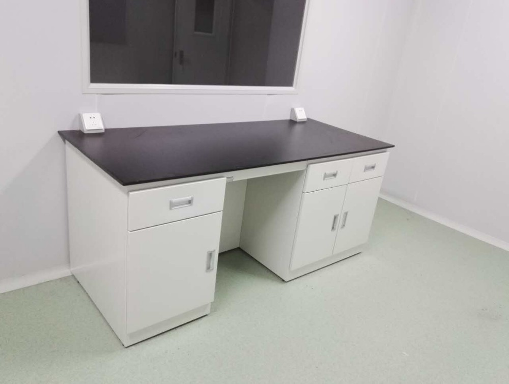 Top-selling BH01-012 lab metal island workbench Central lab workbench with metal structure