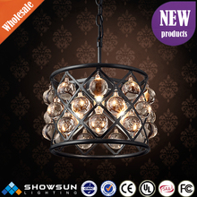 Chinese process manufacturing indian CE and UL small crystal chandelier