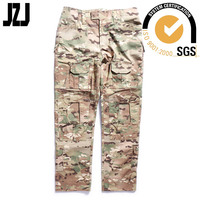 low price camouflage uniform military trousers multicam