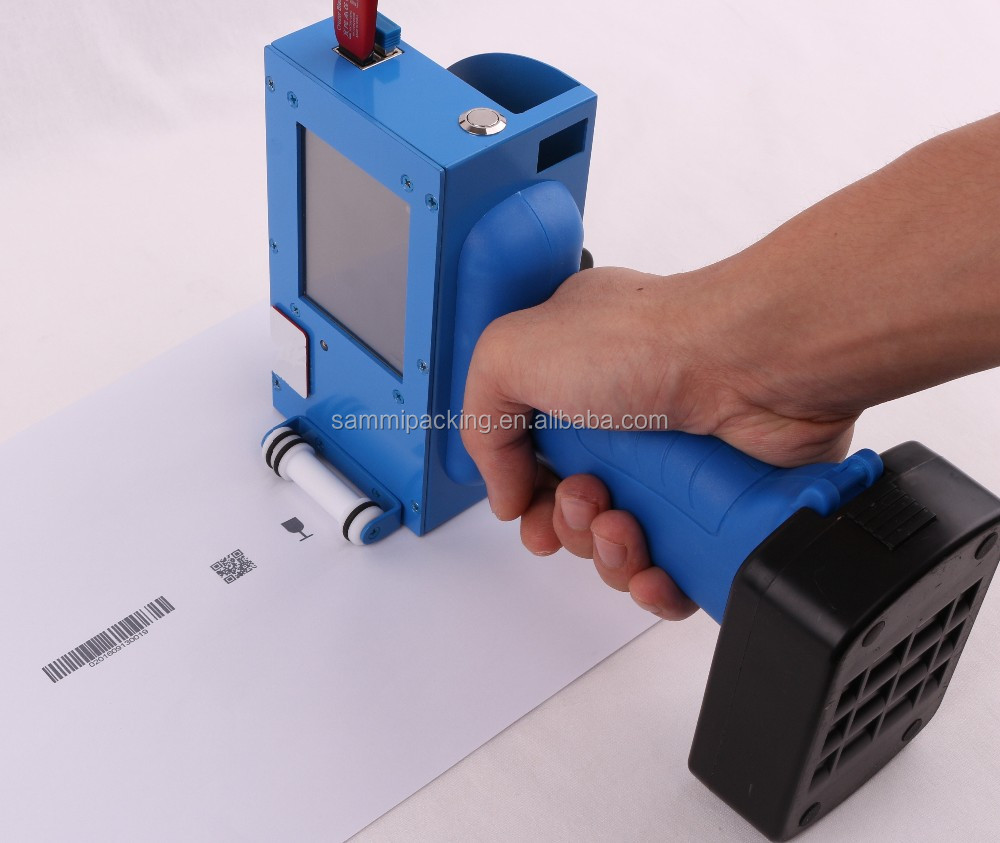 Handheld inkjet printing machine with <strong>DHL</strong> free shipping + black ink