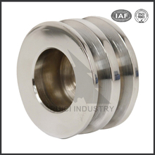 OEM casting service large stainless steel metal wire rope pulley wheel