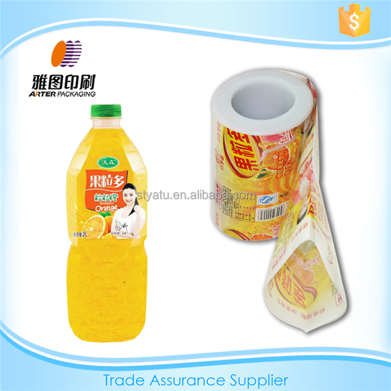 Printing PVC Label Mineral Water