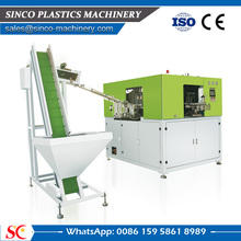 Full automatic PET stretch blow molding machinery