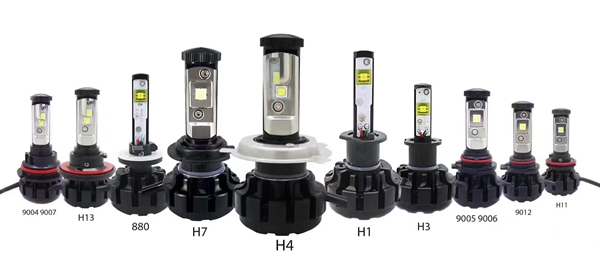 Auto led headlights super bright led car bulbs