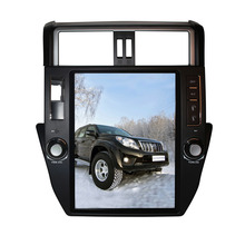 "12.1"" Quad Core Android 7.1 Car DVD Player For TOYOTA PRADO / LC150 150 2010-2013 Radio Navigation Bluetooth GPS Function"