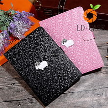 Factory wholesale Discount price Leather cover for apple ipad table case