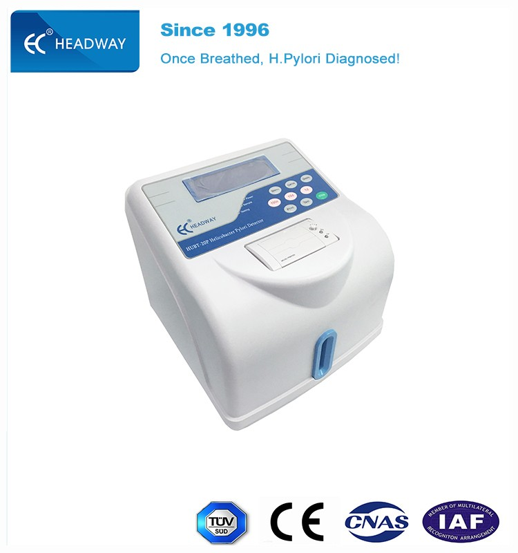 C14 Urea breath test for Helicobacter pylori infection disease diagnosis analyzer