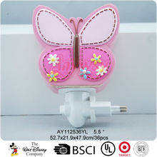Girl gifts for pink butterfly led night light