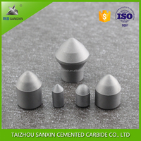 YG8 /K20 grade carbide tips of cemented carbide mining inserts