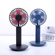 2018 Wholesale More supply Korean agents wanted mini air cooler rechargeable table battery operated fan with power display