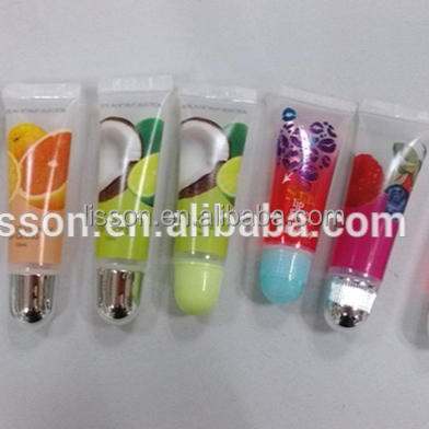 New product diameter 19mm sexy lipbalm tube with Sealing the End