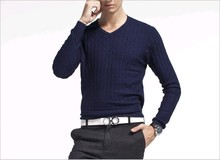 D90217M SINGLE ZIPPER CASUAL MEN COAT