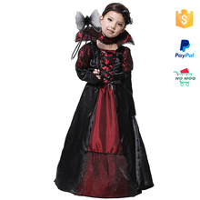 Wholesale Free Shipping Cosplay Fashion Witch Kids Halloween Costume