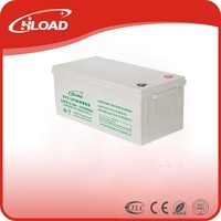 CE approve vrla solar gel battery 12v 200ah deep cycle battery with good quality