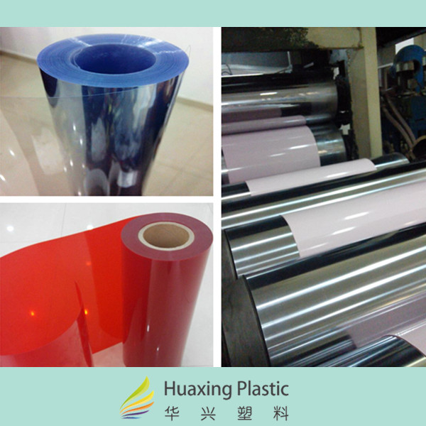 Transparent Thin Hard PET Plastic Film Sheet
