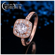 Fashion jewelry factory price wholesale Chian cz 925 silver ring base