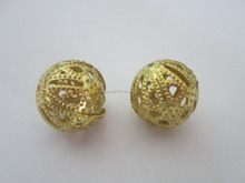 Exquisite design gold flower ball custom made for you